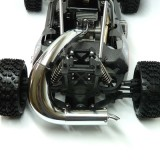 Carbon Fighter Tuning Auspuff Reso +0,8PS, chrom