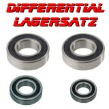 Differential Kugellager Satz 2RS 4 Lager